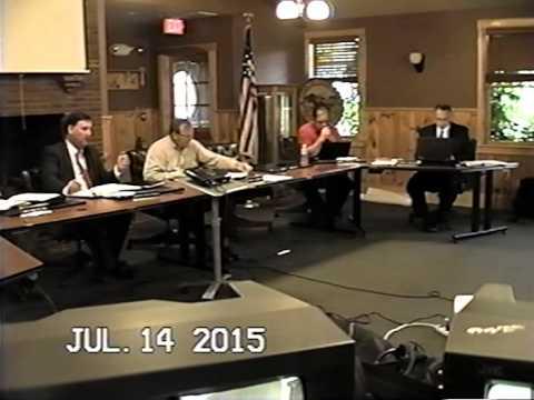 Tewksbury, MA: Board of Selectmen's Meeting: July 14, 2015: Part 1 of 3
