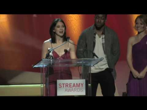Rachael HipFlores  Best Female Actor in a Drama  2010 Streamy Awards