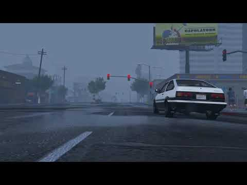 Initial d legend 4 2018 trailer fan-made Takumi Vs Han (gta 5 version)