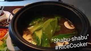 Shabu-shabu Rice Cooker