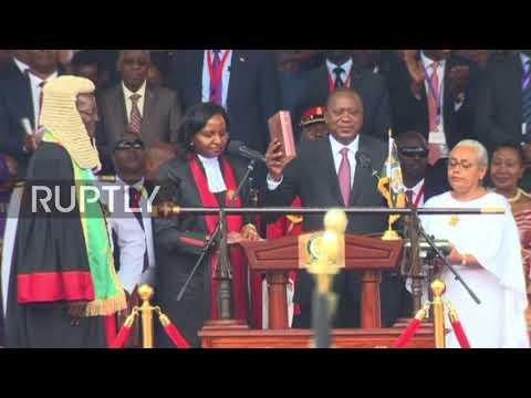 Uhuru Kenyatta sworn in as president for second term