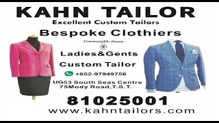 Kahn Tailor opposite  Intercontinental Grand Stanford Hotel & New World Millennium Hotel
