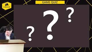 Quiz z wiedzy o grach cz.2 - GAME QUIZ / 27.10.2018 (#2)