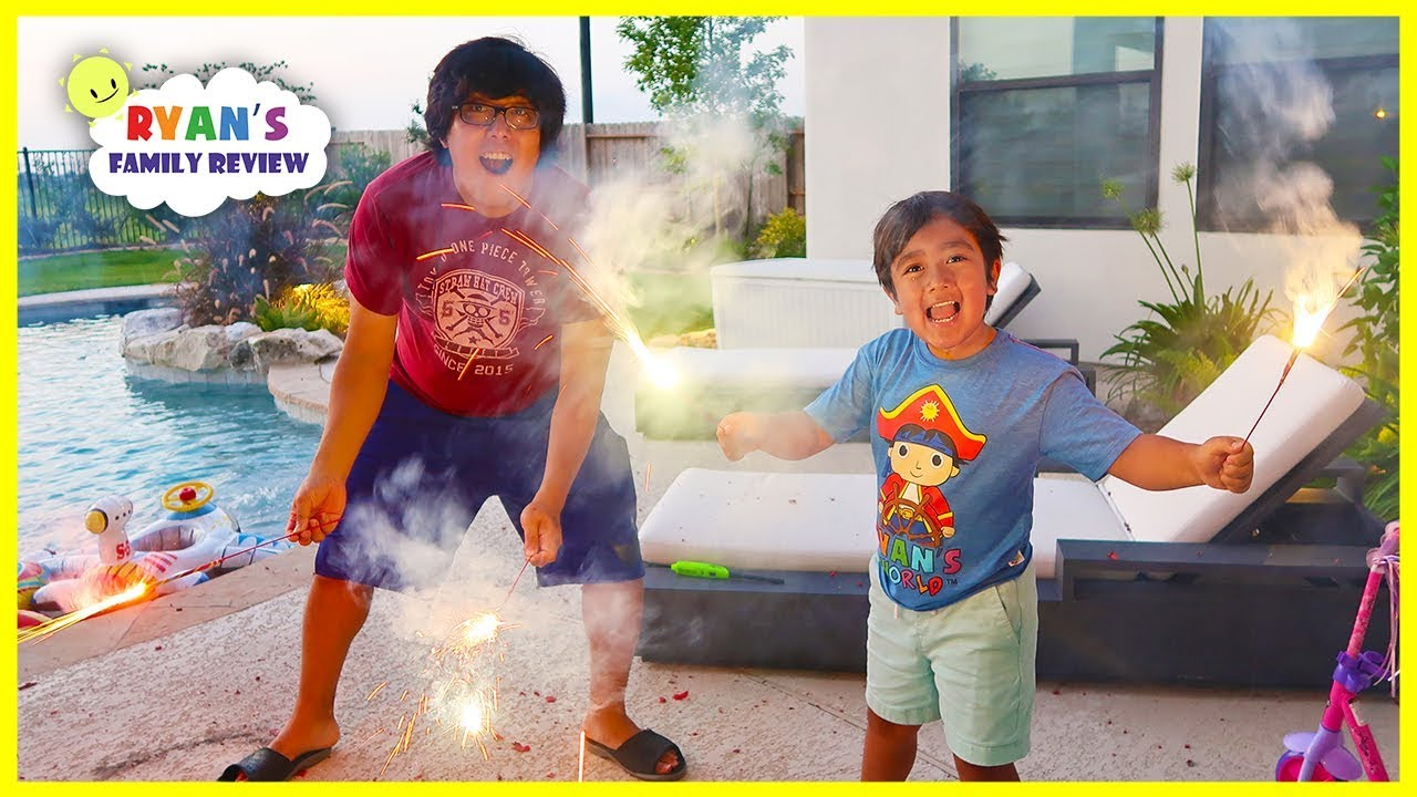 4th of July Fireworks Celebration Family Fun Activities!!!