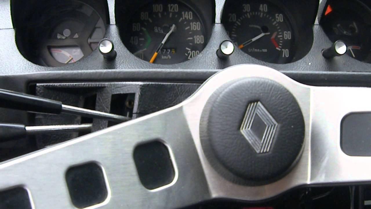 Renault 17 Gordini Youtube