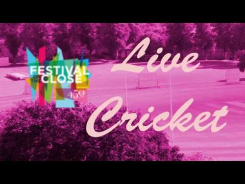 Cricket Live from Rugby School Arts Festival 2017