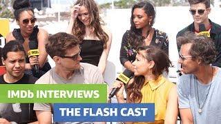 The Flash Cast Tease New Supervillain, Reveal Superhero Crushes