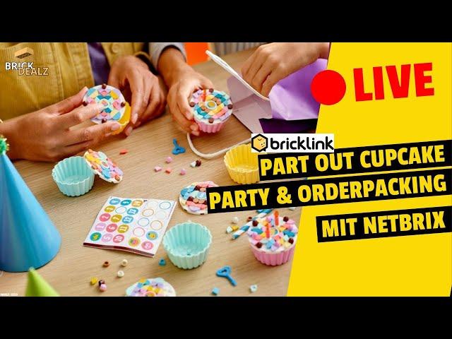 🔴 LIVE Partout Cupcake Party mit NETBRIX