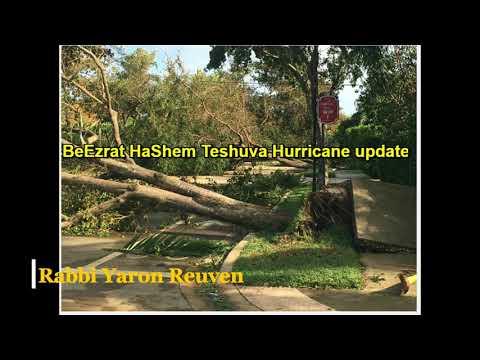 Daily Chidush: BeEzrat HaShem Teshuva Hurricane update