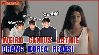 [Reaksi] Weird Genius - Lathi (ft. Sara Fajira)- Orang Korea