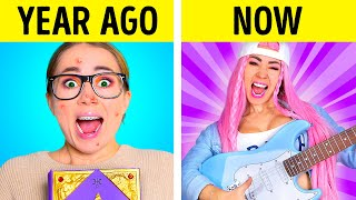 Popular vs Nerd Student | How to be COOL in College - Funny musical by La La Life