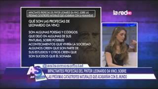 Impactantes profecías del pintor Leonardo Da Vinci sobre las próximas catástrofes naturales