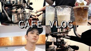 [Eng]Cafe Vlog/신사동 개인카페알바 브이로그…
