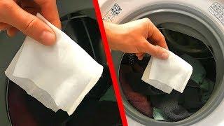 Masukkan Tisu Basah ke Mesin Cuci dan Lihat Apa yang Terjadi