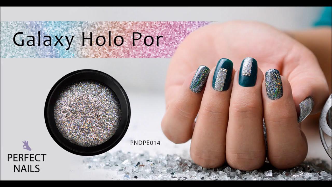 Galaxy HOLO Por | Perfect Nails - YouTube