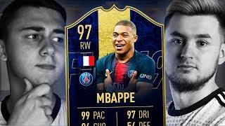 БИТВА СОСТАВОВ vs FAVOR1TE   TOTY MBAPPE 97   FIFA 19