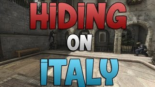 Hiding In CS:GO - Italy