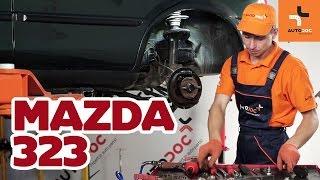 Cum se înlocuiesc cilindru frână roți din spate pe MAZDA 323 TUTORIAL | AUTODOC