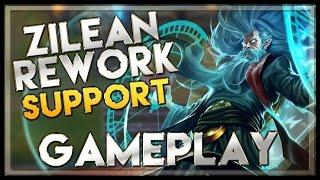 Zilean Rework Gameplay Support - League of Legends LoL Zilean 2015