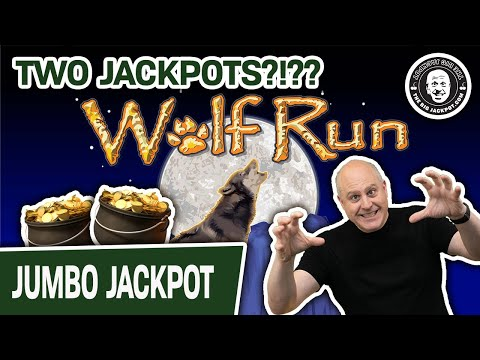 😱 TWO JACKPOTS In A REAL CASINO 🐺 Wolf Run Slots With $40 SPINS