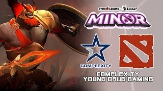 Complexity vs YDG | StarLadder ImbaTV Dota 2 Minor Season 2
