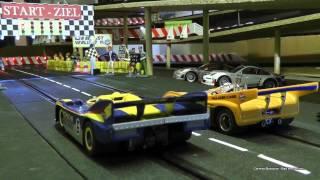 """Meine Carrera Bahn Rennbahn - """"Underground SpeedRace"""" - Slotcar : McLaren M20 vs. Porsche 917/30"""