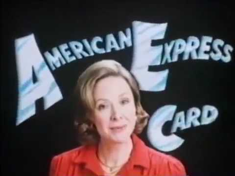Joan Ganz Cooney American Express Commercial