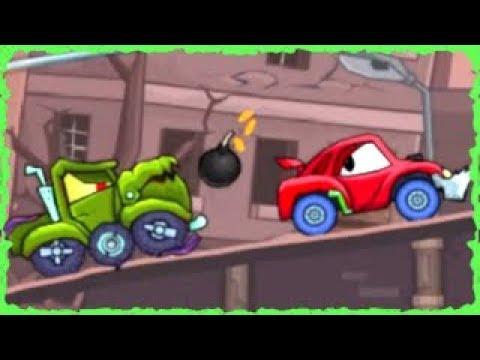 Car Eats Car 2 Deluxe Game Walkthrough (Level 1-10)