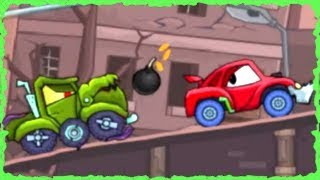 Car Eats Car 2 Deluxe Game Walkthrough (Level 1-10)