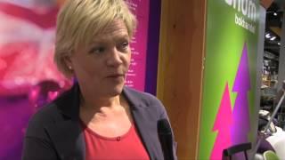 Nobels fredspris 2012: Kunnskapsminister Kristin Halvorsen