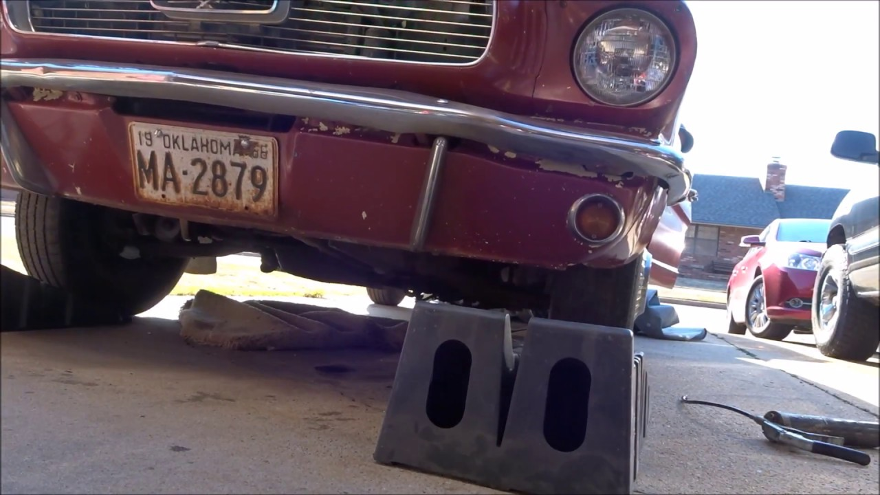 small resolution of 1966 mustang part 2 fuel pump replacement