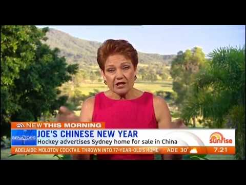 Sunrise discuss Barnaby Joyce Affair with Pauline Hanson & Derryn Hinch