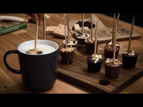 sucettes pour chocolat chaud nestl dessert youtube. Black Bedroom Furniture Sets. Home Design Ideas