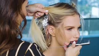 Foiled Hairline Blonde Haircolor Technique