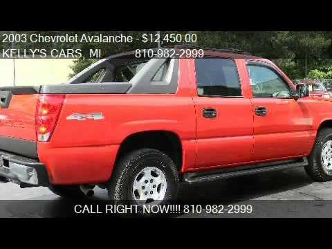 2003 chevrolet avalanche 1500 4wd for sale in fort. Black Bedroom Furniture Sets. Home Design Ideas