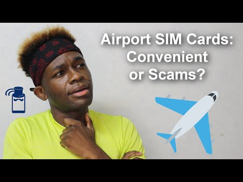 Should You Buy Local Prepaid SIM Cards At Airports? 🤔