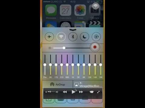 Equalizador de musica para iPhone / iPod iOS 7|| EqualizerEveryhere de