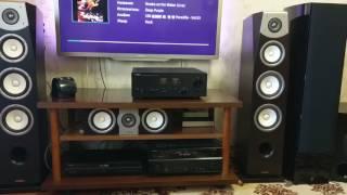 Yamaha Soavo NS-F901+B901+C901+A-S1100 +Yamaha NS-SW901