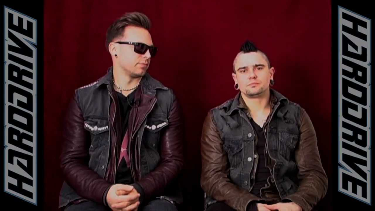 Matthew Tuck And Jason James From Bullet For My Valentine