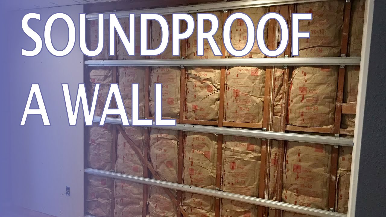 Soundproof a wall how to and stop hearing noisy Soundproof a bedroom wall noisy neighbours