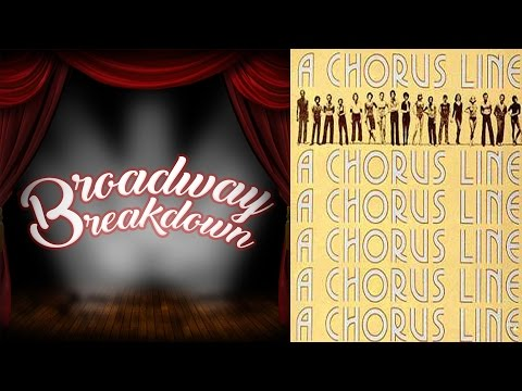 A Chorus Line Theater Discussion - Broadway Breakdown