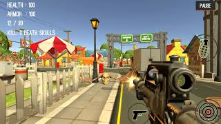 Monster Killing City Shooting II - gameplay 2