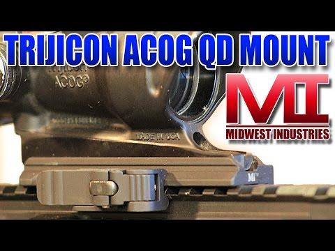 Midwest Industries Trijicon ACOG QD Optic Mount