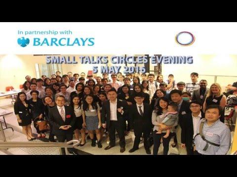 Barclays Small Talks Circles Evening, 5 May 2016