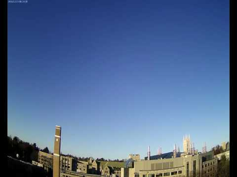 BC Gasson Sky Camera 2016-12-23: Boston College