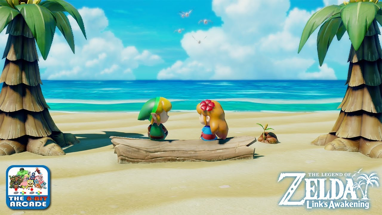 The Legend Of Zelda Link S Awakening Marin Can Move Mountains With Her Singing Switch Gameplay