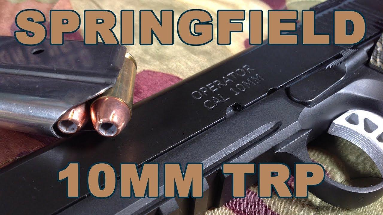 Gun Review: Handgun hunting peaks with Springfield TRP