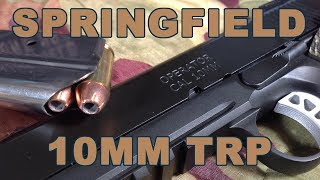 Review:10mm pistol hunting peaks with Springfield TRP Operator