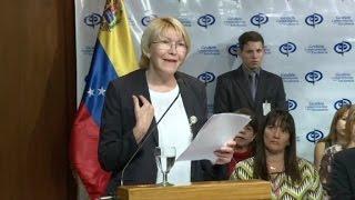 URGENTE: Fiscal venezolana: no queremos una guerra civil thumbnail