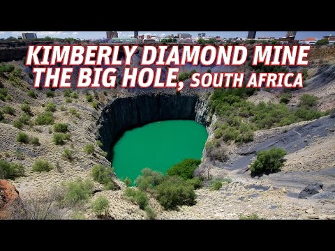 The Giant Holes: Kimberly Diamond Mine (The Big Hole), South Africa #Vendora